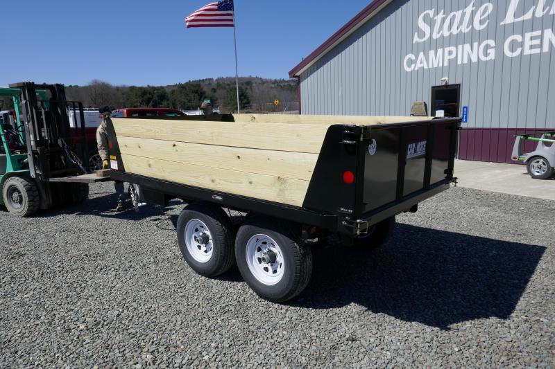 2019 Car Mate Trailers CM610D-HD Deck Over Wheel (DOW) Dump Trailer
