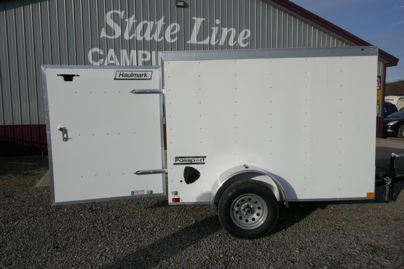 2020 Haulmark PP58S2 5X8 Single Rear Door Enclosed Cargo Trailer