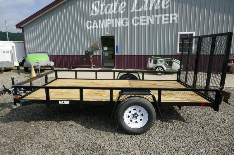 2020 Car Mate Trailers CM614A/W Single Axle Utility Trailer