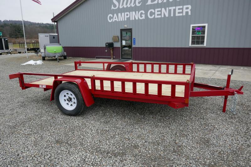 2020 Car Mate Trailers CM612A/W Single Axle Utility Trailer