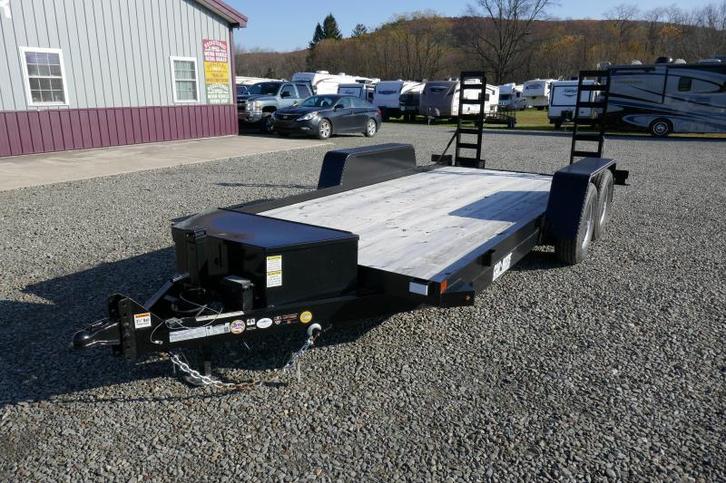 2018 Car Mate Trailers CM616SS Skid Steer Trailer Equipment Trailer