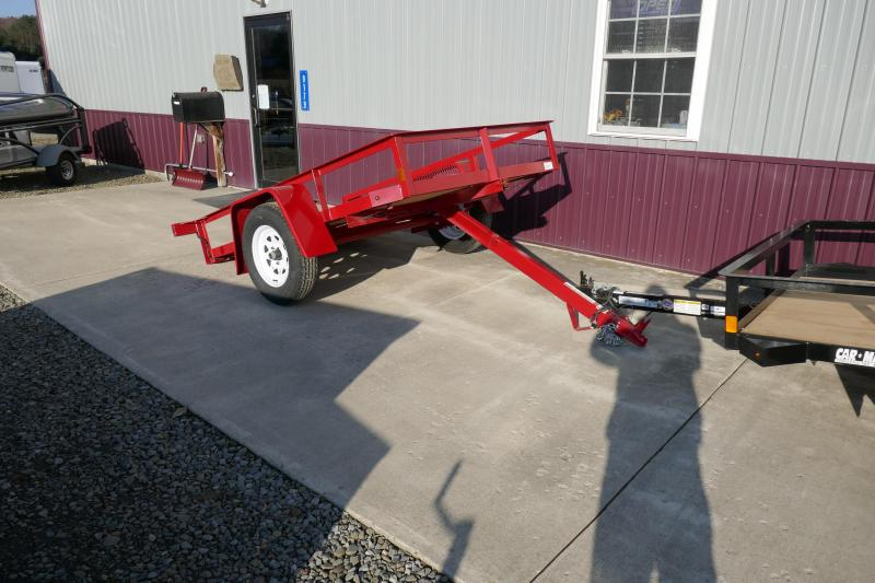 2020 Car Mate Trailers CM508A-T Tilt Bed Utility Trailer