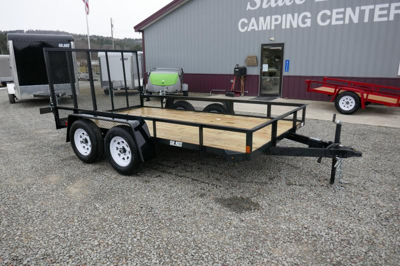2020 Car Mate Trailers CM612A-HD/W Tandem Axle Utility Trailer