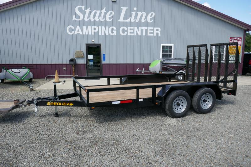 2019 Pequea 8016T Equipment Trailer
