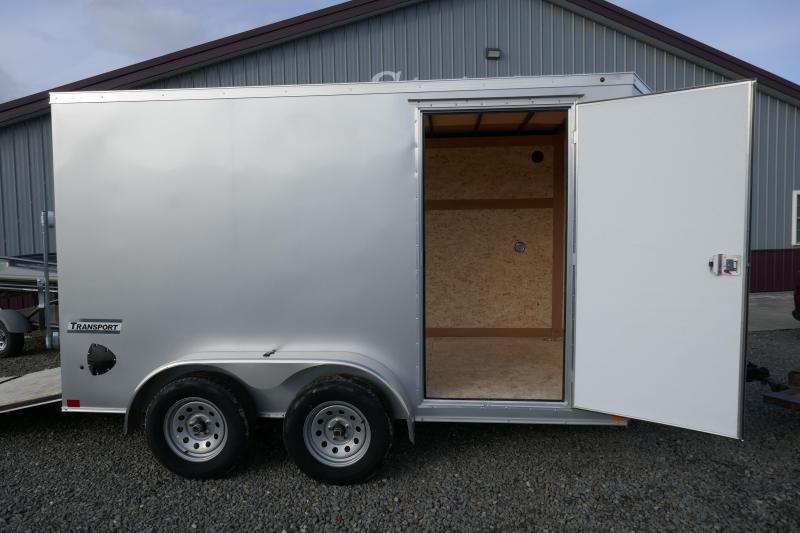 2020 Haulmark TSV712T2 Ramp Rear Door Enclosed Cargo Trailer