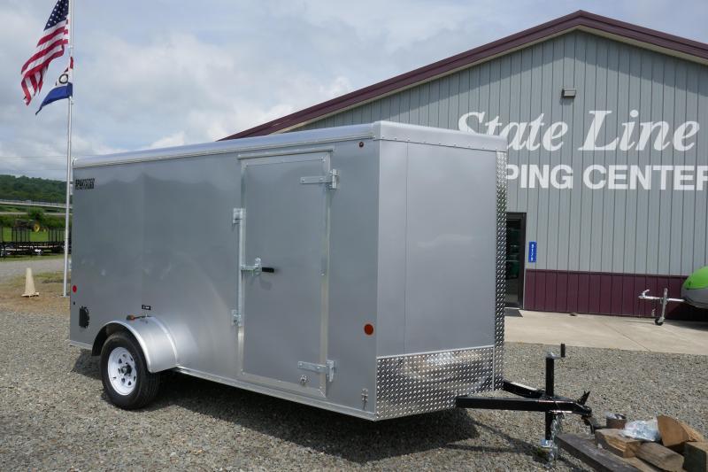 2019 Car Mate Trailers CM612LS Single Axle Enclosed Cargo Trailer