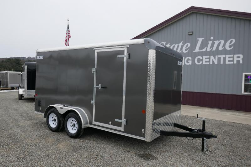 2020 Car Mate Trailers CM714CC-HD - 7'W Tandem Axle Custom Cargo Trailer Enclosed