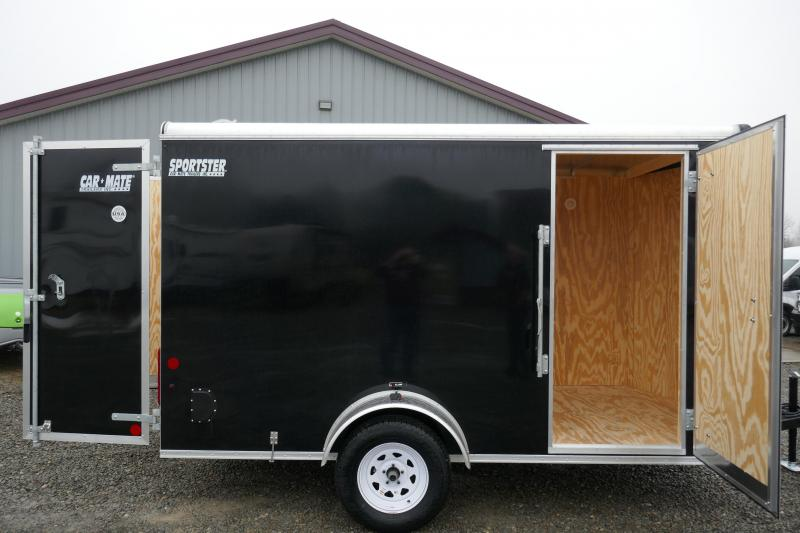 2020 Car Mate Trailers CM612ECV Single Axle Enclosed Cargo Trailer