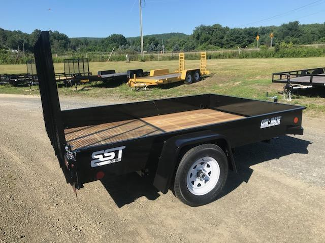 2018 Car Mate CM610SST/W Steel Sided Landscape Trailer
