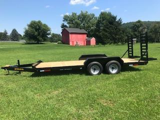 2019 Pequea 1018 SST Equipment Trailer