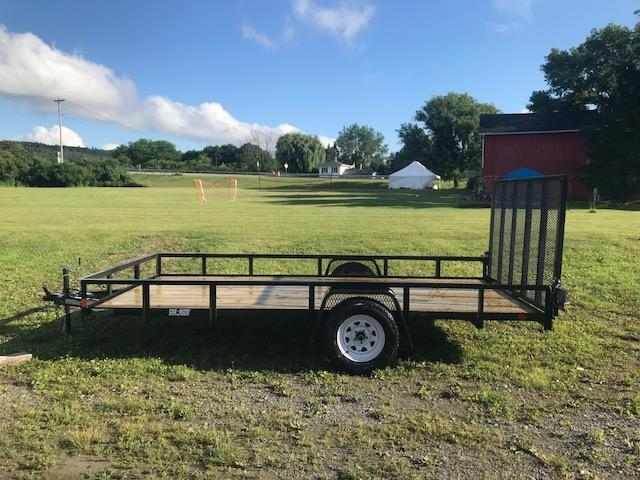 2017 Car Mate CM610A/W Angle Utility Trailer