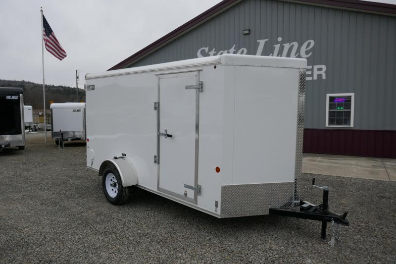 2020 Car Mate Trailers CM612LS Single Axle Enclosed Cargo Trailer