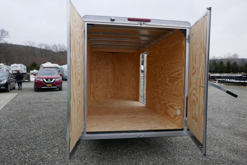 2020 Car Mate Trailers CM612LS Single Axle Enclosed Cargo Trailer
