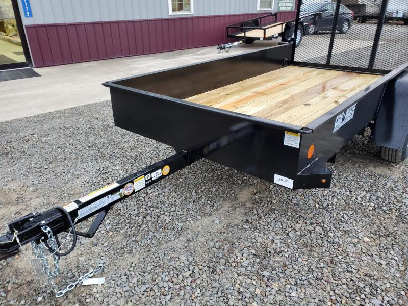 2020 Car Mate Trailers CM510SST-G Single Axle Utility Trailer
