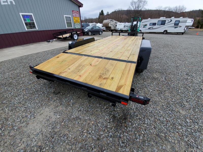 2020 Car Mate Trailers CM818A-CT/W Full Treated Plank Deck Car / Racing Trailer