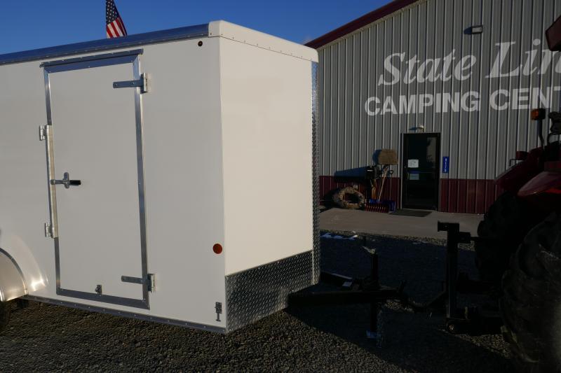 2019 Car Mate Trailers CM712ECV Single Axle Enclosed Cargo Trailer
