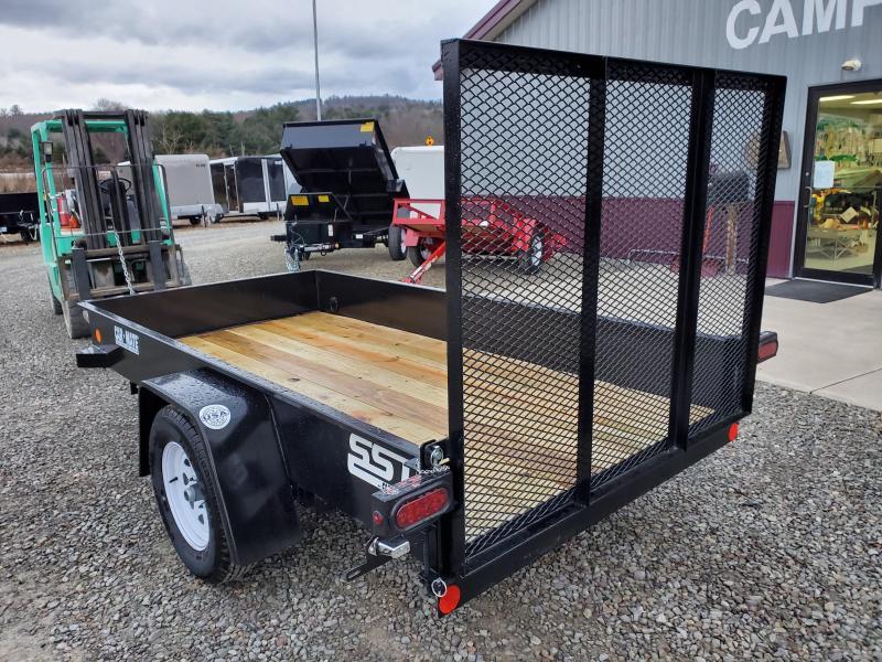 2020 Car Mate Trailers CM510SST-G Single Axle Utility Trailer
