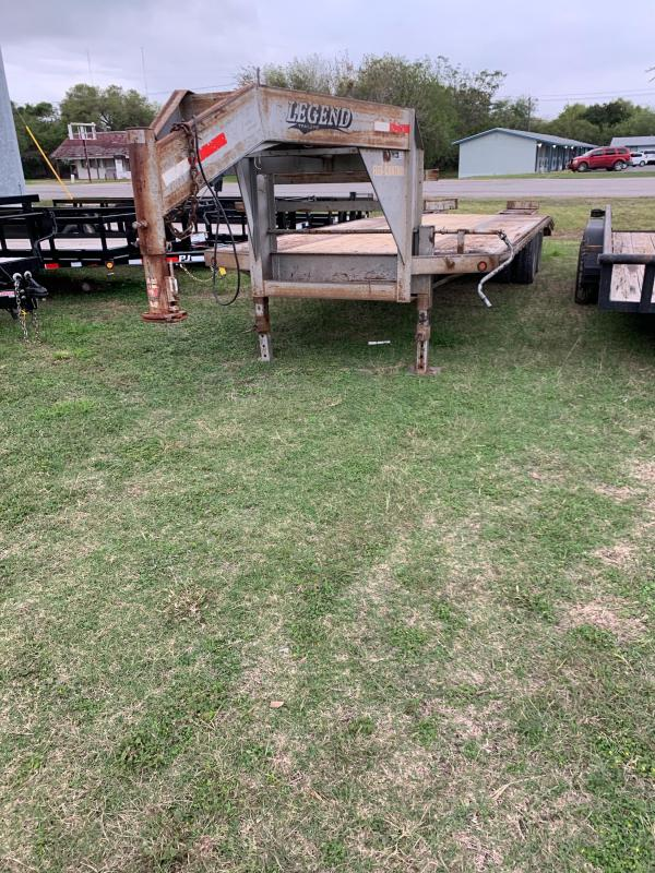 2011 Legend Trailers FB Flatbed Trailer