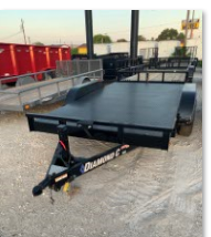 2017 Diamond C Trailers REQ16X28 Flatbed Trailer