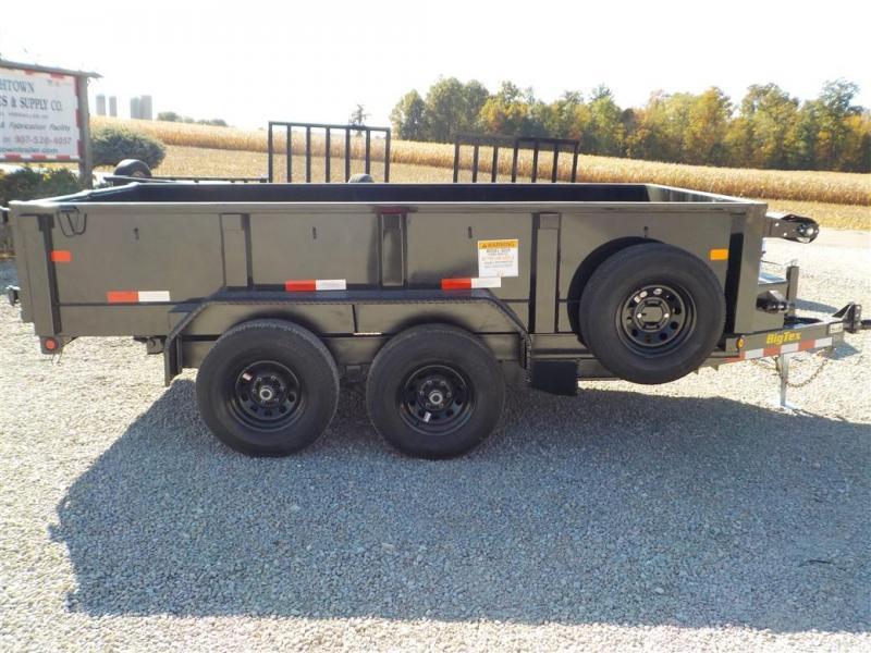 2020 Big Tex Trailers 90SR-12 BK 7SIR Dump Trailer