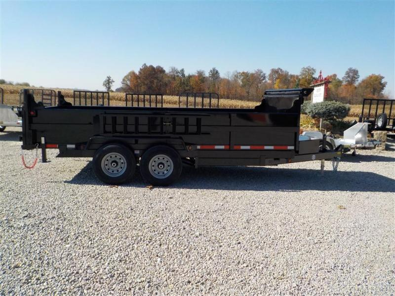 2020 Quality Steel and Aluminum 8316D 14K Dump Trailer
