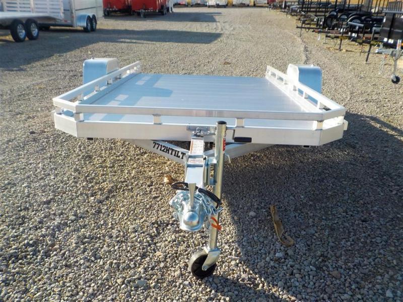 2020 Aluma 7712 H-TILT Utility Trailer