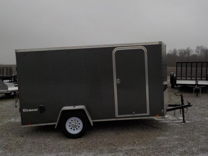 2012 Look Trailers EWLC 6X12 S12 Enclosed Cargo Trailer