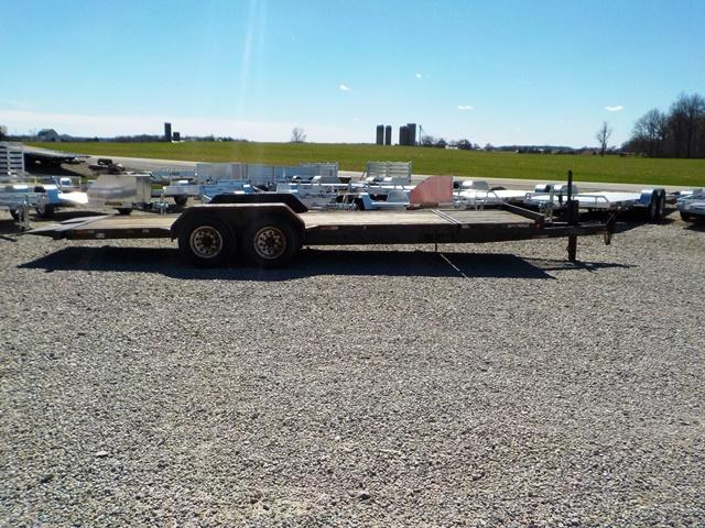 2002 Titan Trailers 83 x 20 Equipment Trailer **USED**