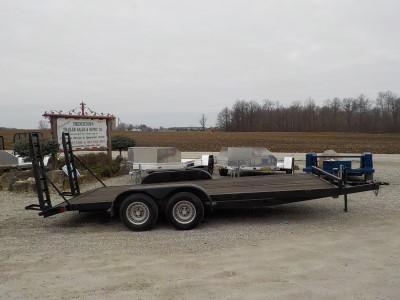 1995 May Trailers 8318 TA2 Equipment Trailer