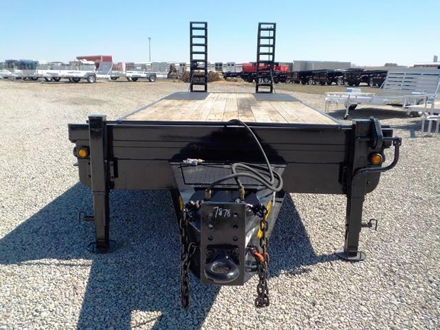 2014 Belshe DT -255 2AP Equipment Trailer **USED**