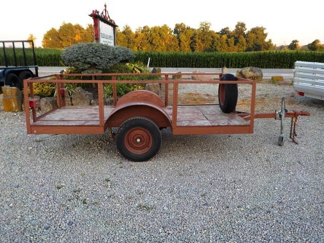 2000 Homemade 1AX Utility Trailer