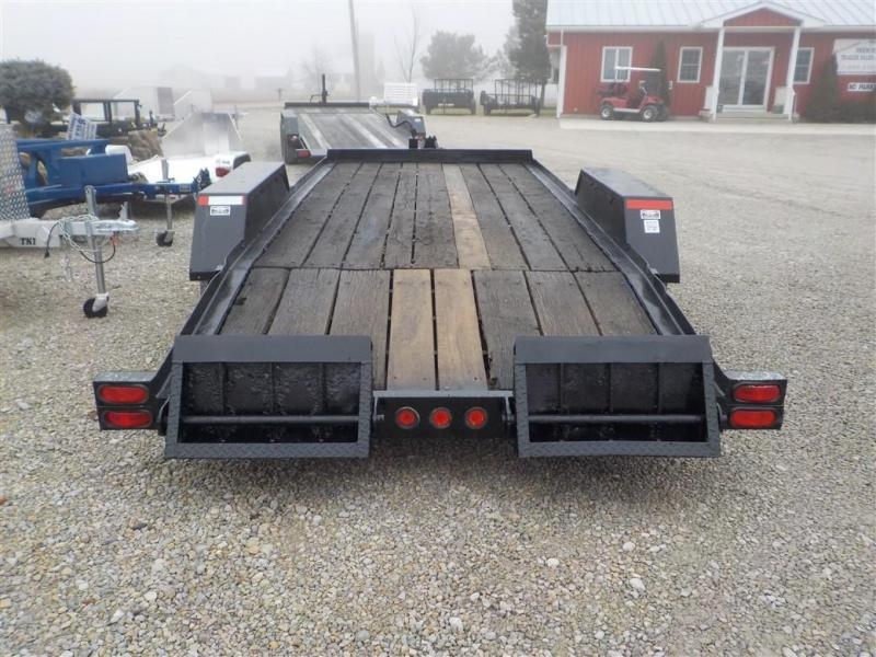 1995 Towmaster Trailers T-12 DDDT TILT Equipment Trailer