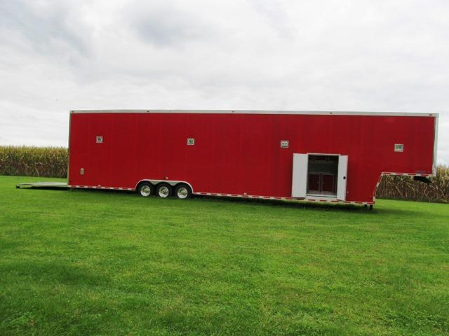 2007 Cargo King 8.5X53TTA 6 CAR STACKER TRAILER Car / Racing Trailer