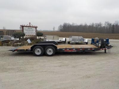 2020 Trailerman Trailers Inc. CTT 7616 N14 TILT Equipment Trailer