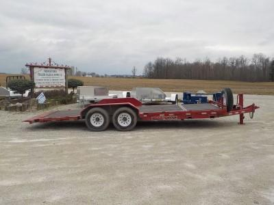 2014 Trailerman Trailers Inc. CTT7418N14 Tilt Equipment Trailer