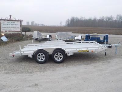 2021 Aluma 7814 TA-EL-R-TR-RTD Utility Trailer