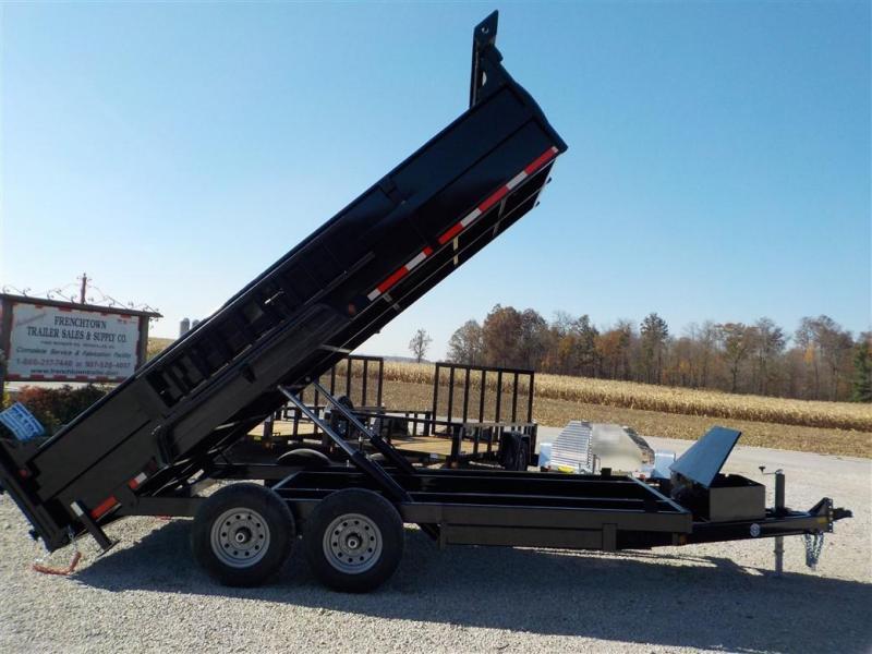 2020 Quality Steel and Aluminum 8316D 14K Dump Trailer