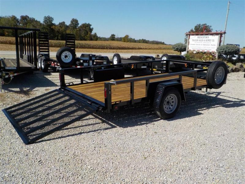 2020 Quality Steel and Aluminum 8212 AN SA Utility Trailer