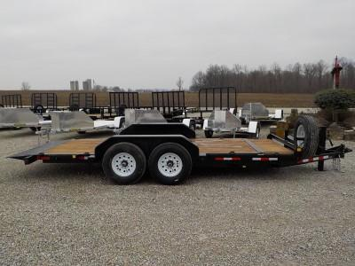 2020 Trailerman Trailers Inc. CTT7216N14 Tilt Equipment Trailer