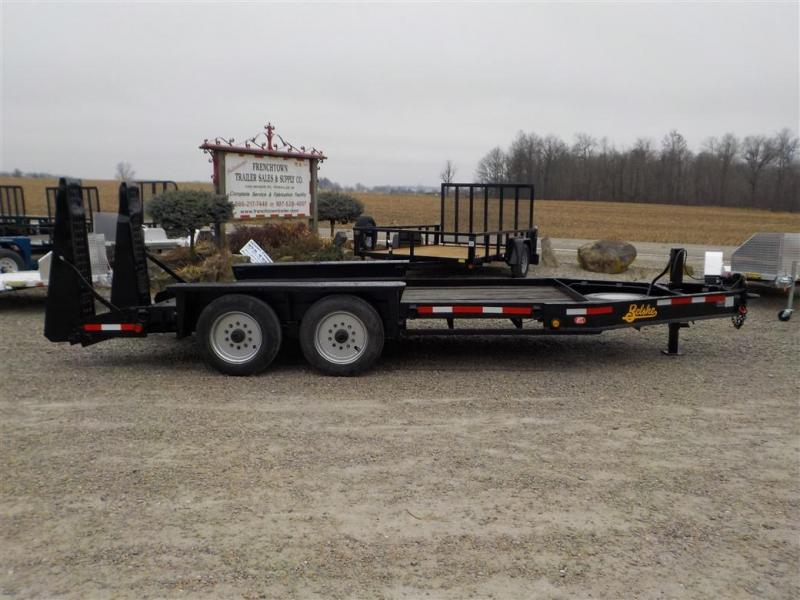 1999 Belshe T16-2EP Equipment Trailer