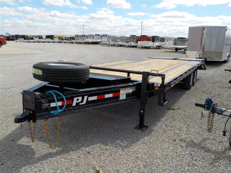 2020 PJ Trailers LSB2592BSWO LO-PRO DECKOVER Equipment Trailer