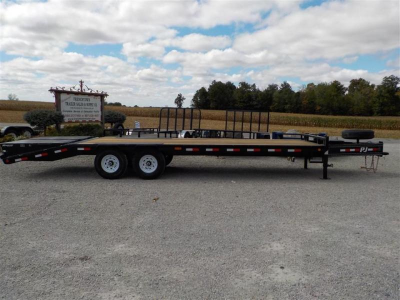 2020 PJ Trailers LSB2592BSWO LO-PRO DECKOVER Equipment Trailer