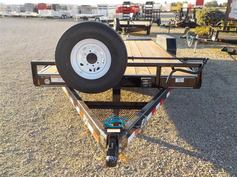 2020 PJ Trailers CCJ1892BS50B-ST06 Equipment Trailer