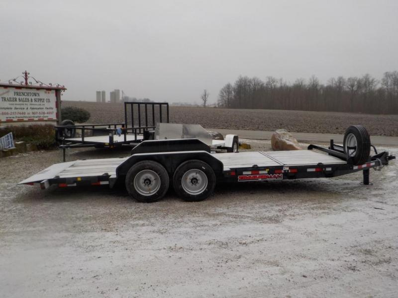 2020 Trailerman Trailers Inc. CTT7416N14 Equipment Trailer
