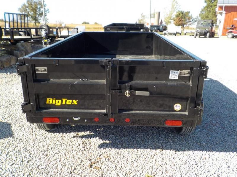 2020 Big Tex Trailers 70SR-10-5 WDD BK Dump Trailer