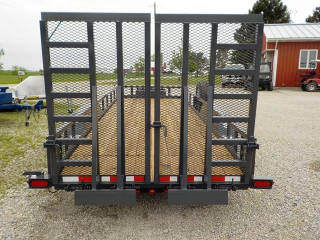 2019 Trailerman Trailers Inc. TUT 6182 W10 Utility Trailer