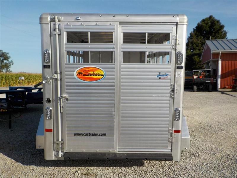 2020 Sundowner Trailers SUNLITE STOCKMEN Livestock Trailer