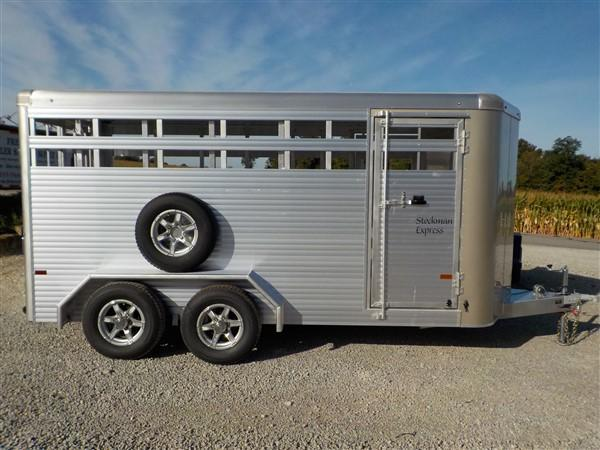 2020 Sundowner Trailers SUNLITE STOCKMEN Livestock Trailer