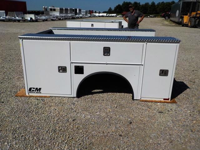 CM 9878 VV SS Truck Bed Service Body