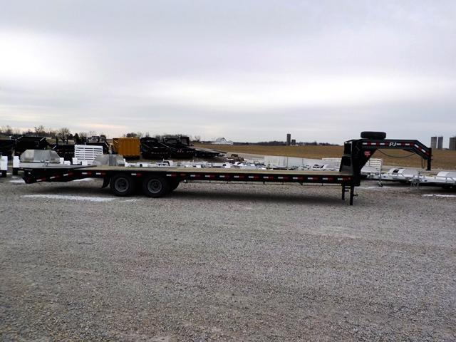 2019 PJ Trailers LDR34D2HSW00T 29 PLUS 5 LOPRO G.N. FLATBED Equipment Trailer